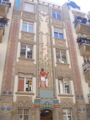 immeuble egyptien strasbourg