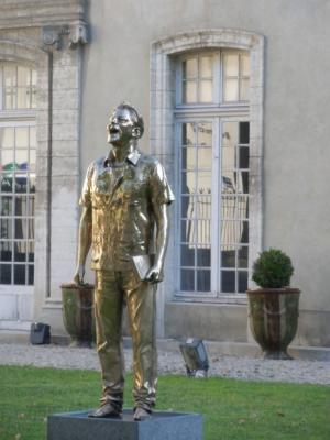 photo statue de la liberté qui pleure