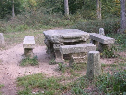 La table du grand ma tre fontainebleau 77 77300 - Table des marechaux fontainebleau ...