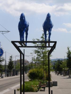 Les chevaux bleus saint tienne 42 42000 - Code postal st priest en jarez ...