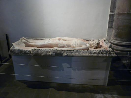 Restauration Polychromie Sainte Chapelle Statue
