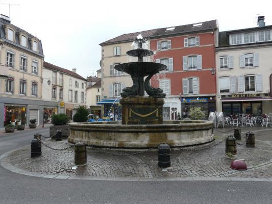Fontaine des dauphins remiremont 88 88200 for Piscine de remiremont