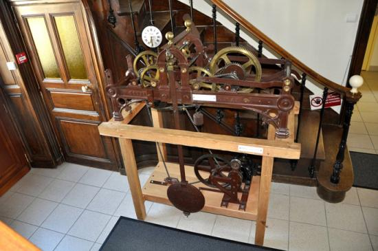 Mecanisme horloge de clocher a vendre