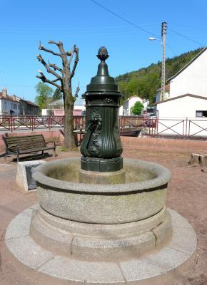 Monolithique fontaine