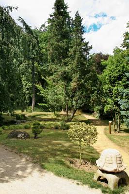 Le jardin japonais du parc edmond de rothschild boulogne - Mobilier jardin grenoble boulogne billancourt ...