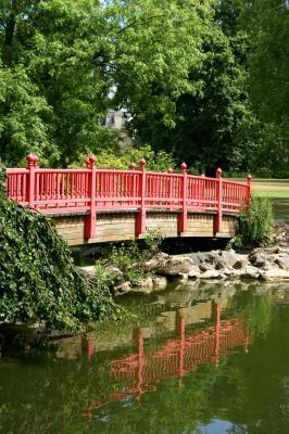Le jardin japonais du parc edmond de rothschild boulogne - Jardin japonais boulogne billancourt ...