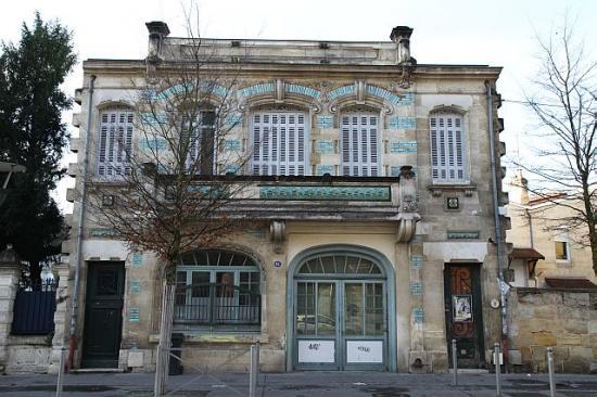 Maison art nouveau bordeaux bordeaux 6e 33 33000 http - Maison de l art nouveau ...