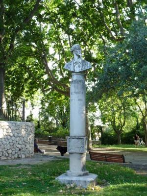 Fr d ric mistral au parc jourdan aix en provence 13 - Parc jourdan aix en provence ...