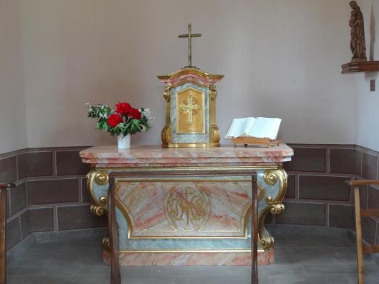 La chapelle de l 39 immacul e conception hochstett 67 - 4 murs haguenau ...