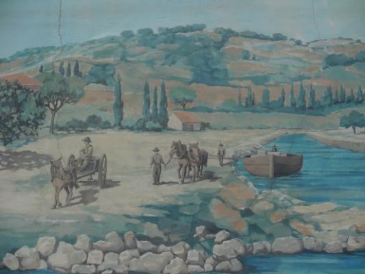 Fresque de port la nouvelle port la nouvelle 11 11210 - Code postal port la nouvelle ...