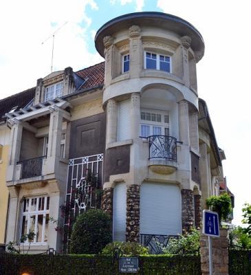 Maison art déco. #Nancy #54 #54000 http://bit.ly/1GL5UrH