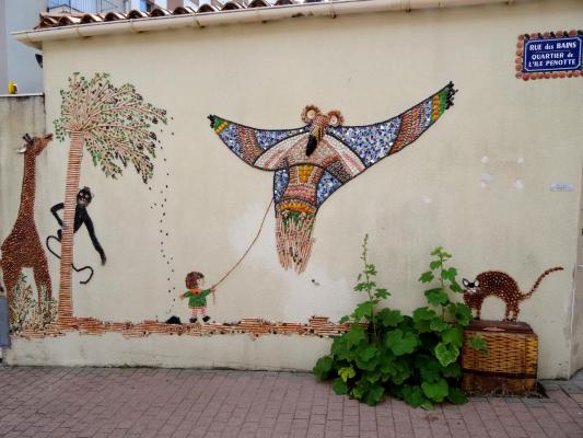 Les Mosaiques De Coquillages De L Ile Penotte Sables D